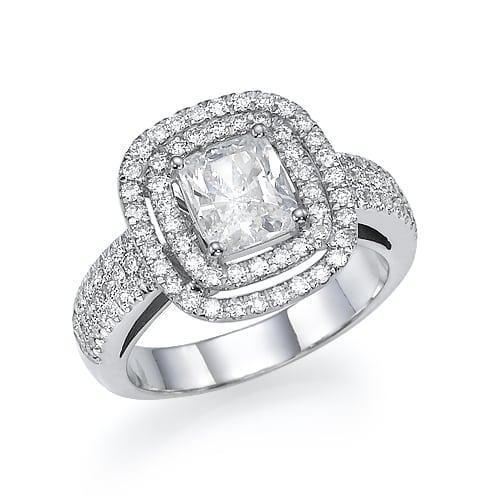 טבעת יהלומים דגם Dariya
