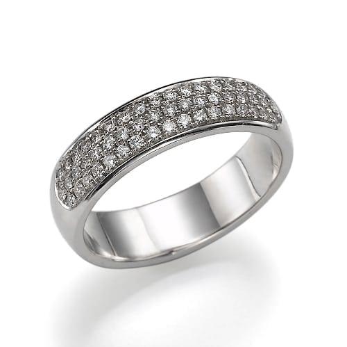 טבעת יהלומים דגם Audrey