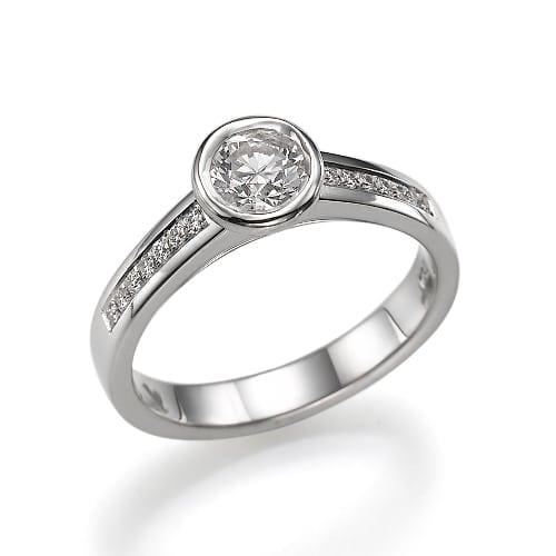 טבעת אירוסין דגם Opra ב-38% הנחה!!!