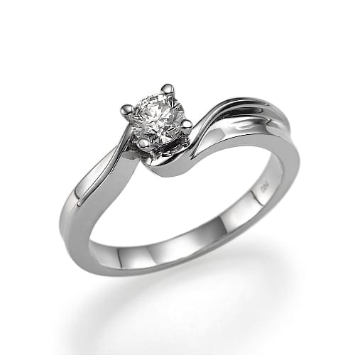 טבעת דגם אירוסין Marry