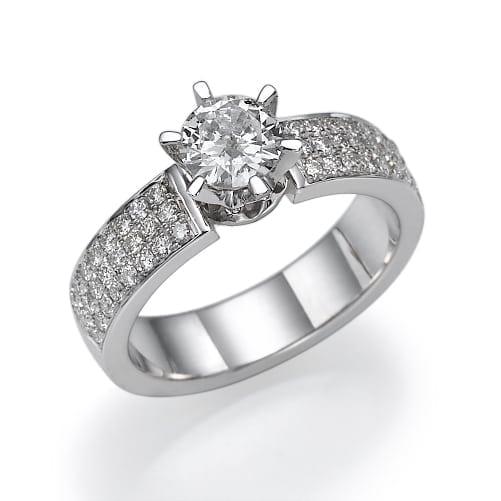 טבעת אירוסין דגם Melanie