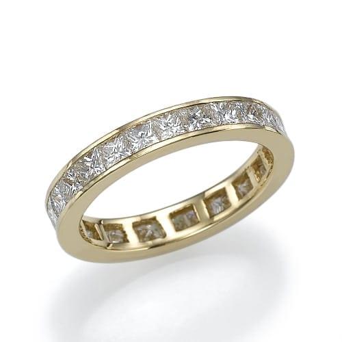 טבעת יהלומים דגם Carmel