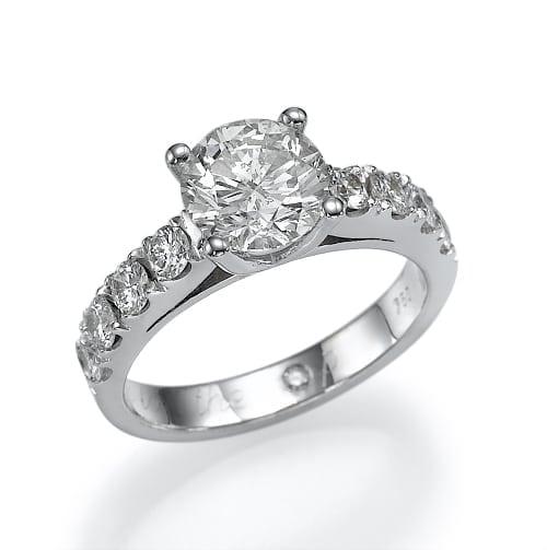 טבעת יהלומים דגם Rona