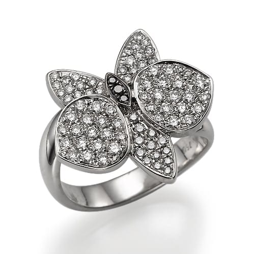 טבעת דגם Orchid
