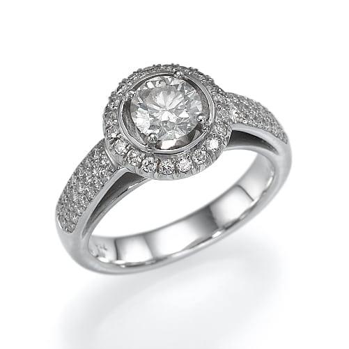 טבעת אירוסין דגם Danielle