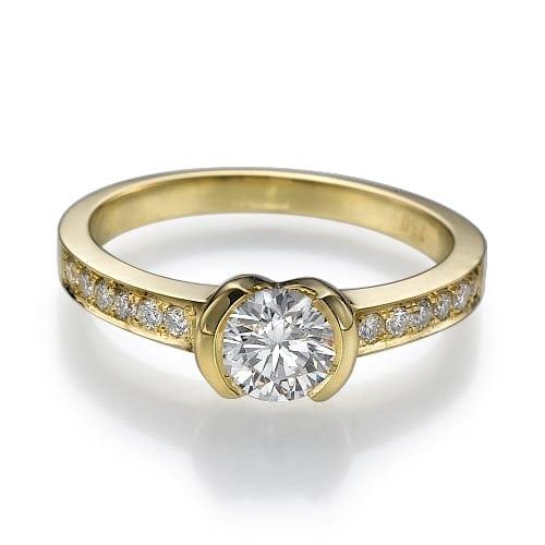 טבעת אירוסין דגם Shani