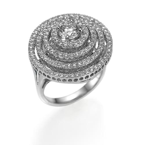 טבעת דגם Oriana