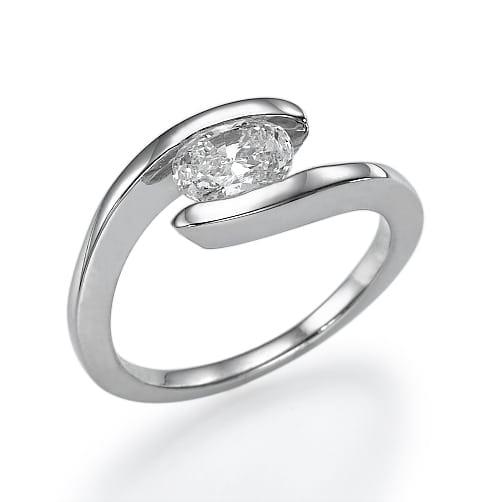 טבעת אירוסין דגם Lilly