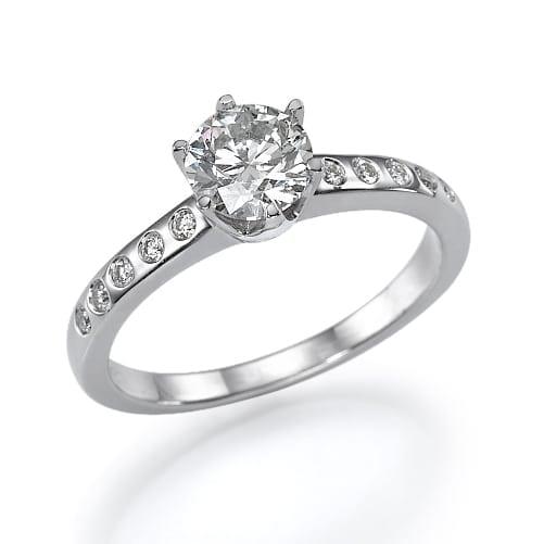 טבעת אירוסין  דגם Ifat