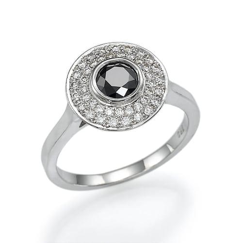 טבעת יהלומים דגם Liv