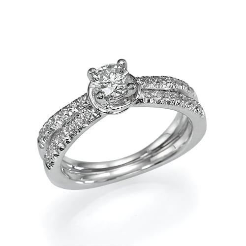 טבעת יהלומים דגם Daisy