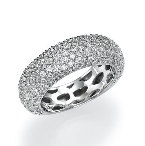 טבעת יהלומים דגם Shira