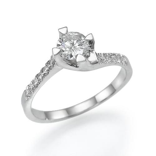 טבעת אירוסין דגם Alba ב-38% הנחה!!!