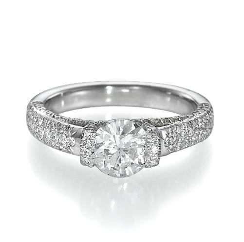 טבעת יהלומים דגם Ayala