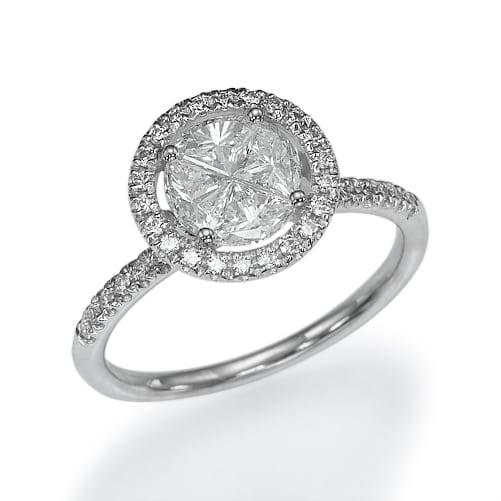 טבעת אירוסין דגם Vera