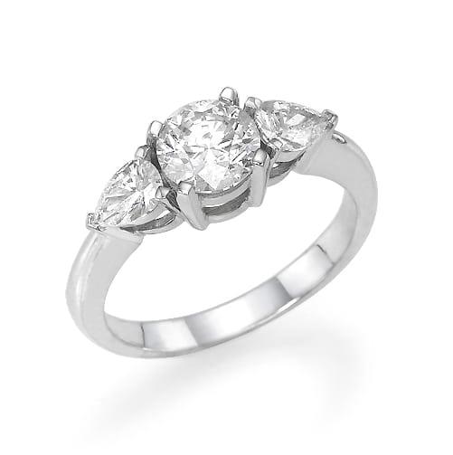 טבעת אירוסין דגם Melania