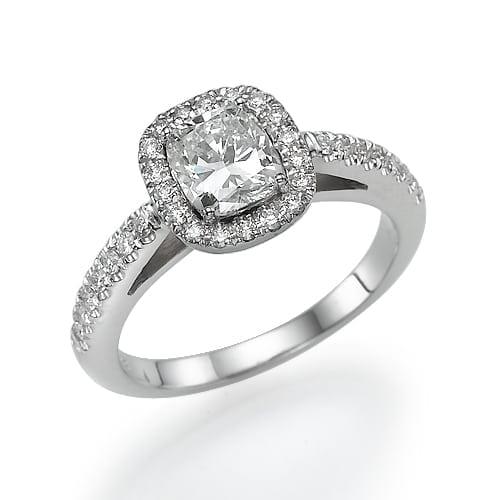 טבעת אירוסין דגם Lona