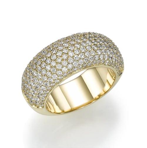 טבעת יהלומים דגם Mali