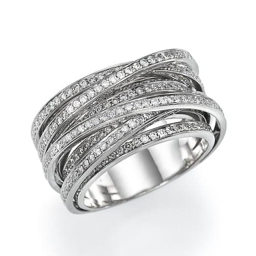 טבעת יהלומים דגם Liraz