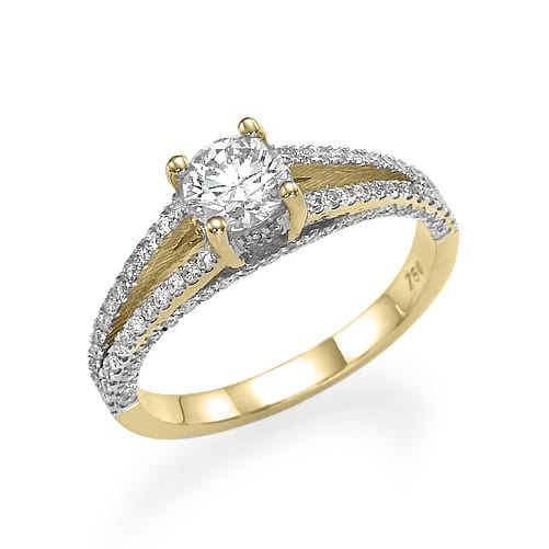 טבעת אירוסין דגם Karla