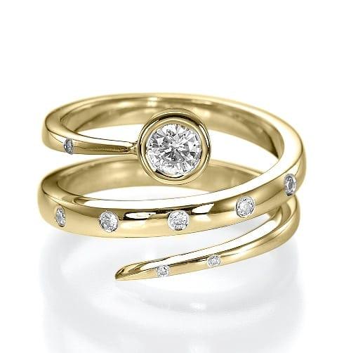 טבעת אירוסין דגם Kora