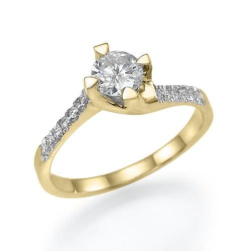 טבעת אירוסין דגם Alba