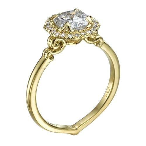 טבעת יהלומים דגם Kaili