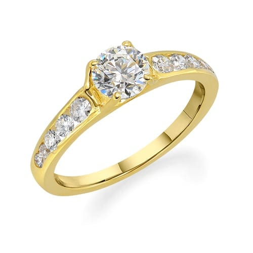 טבעת אירוסין דגם Yulia