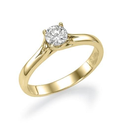 טבעת אירוסין דגם Koral
