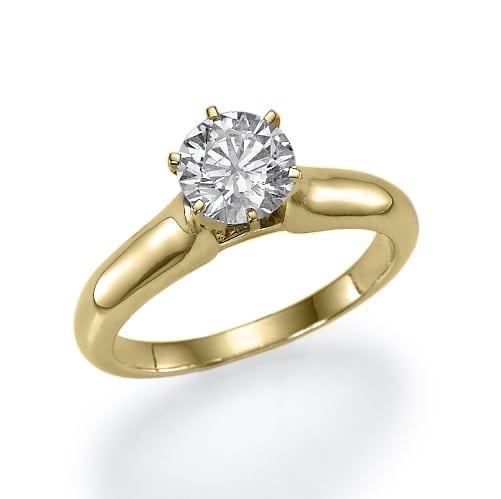 טבעת יהלום דגם Katy