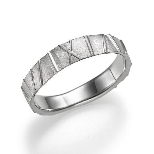 טבעת נישואין דגם Levona