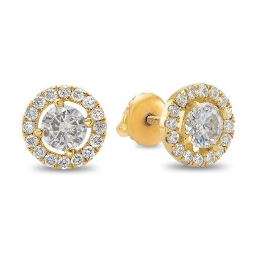 עגילי יהלומים ב-40% הנחה עד ה-10.10