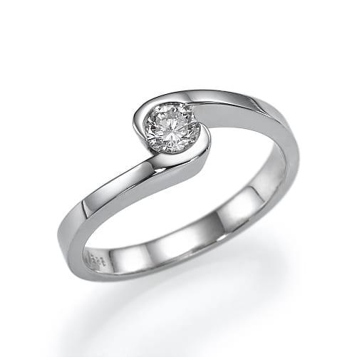 טבעת אירוסין דגם Lilac