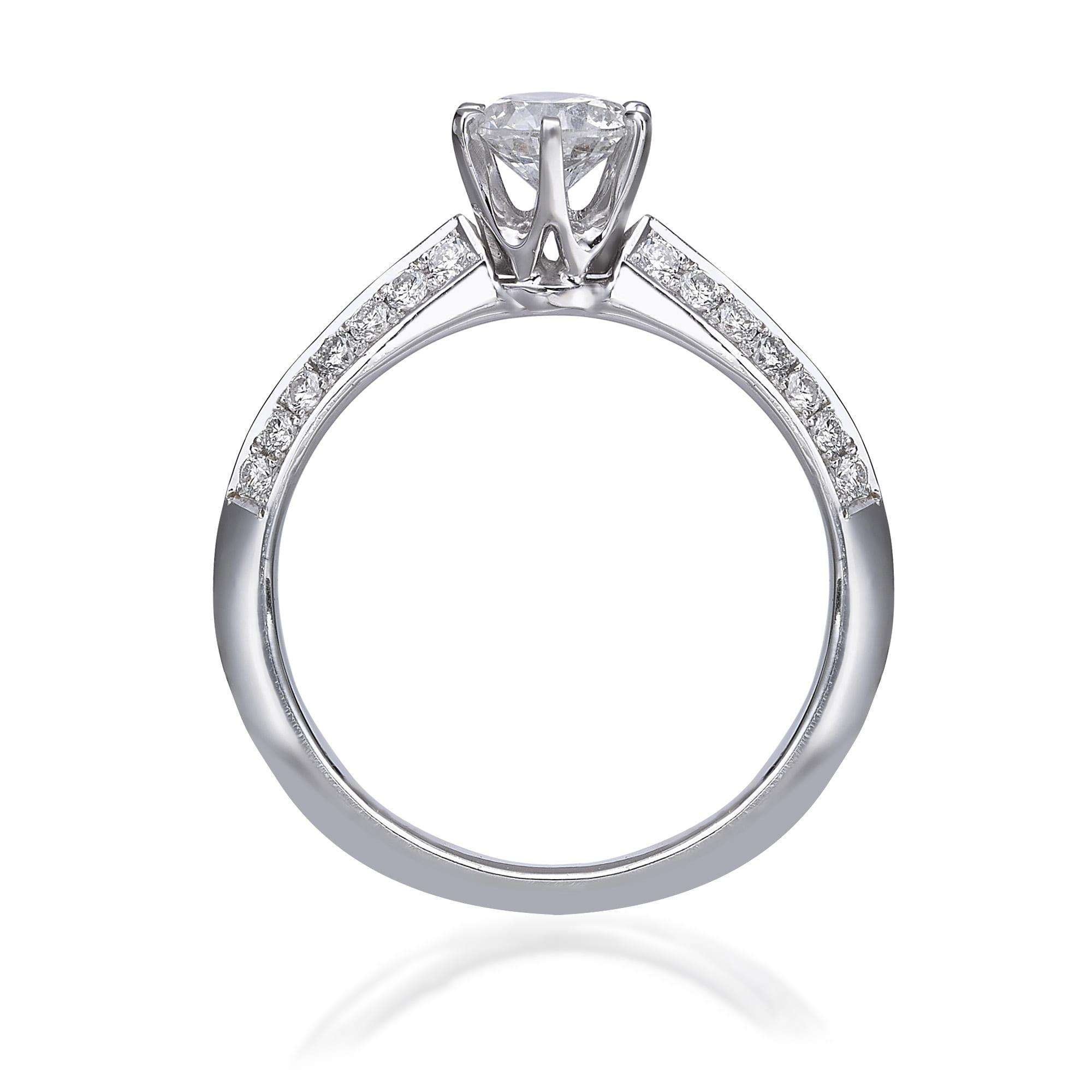 טבעת יהלום דגם Gabriel