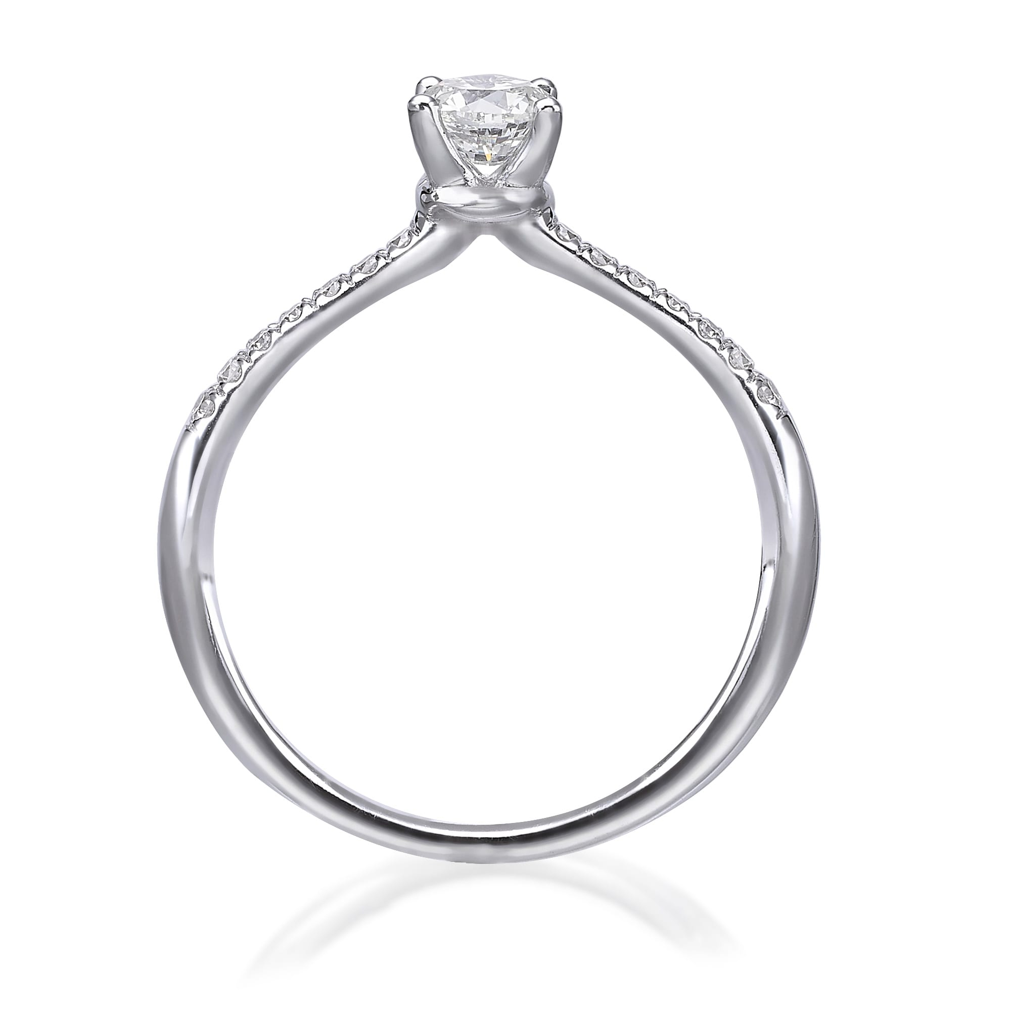 טבעת אירוסין דגם Dustine