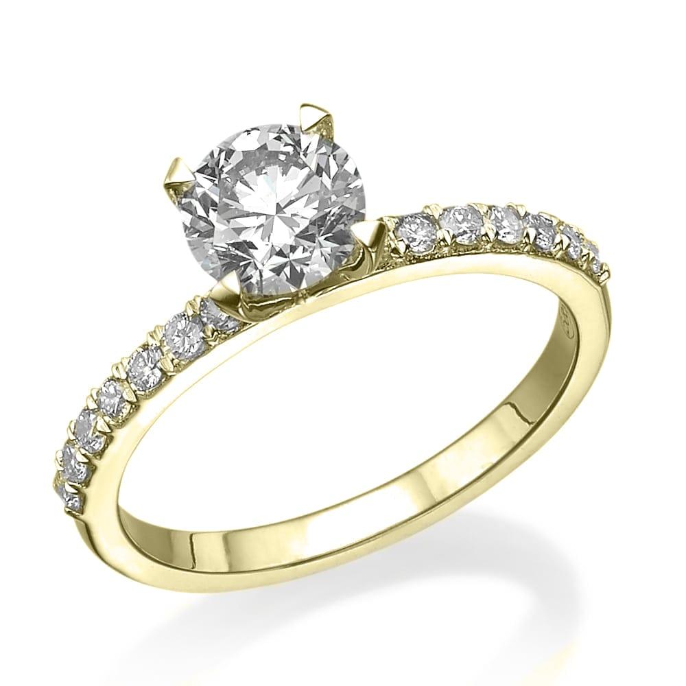 טבעת אירוסין דגם Alisa