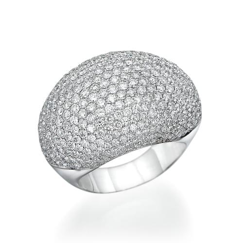 טבעת יהלומים דגם Amber