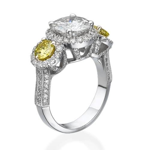 טבעת יהלומים דגם Isabella