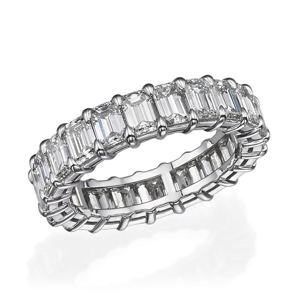 טבעת בשיבוץ היקפי דגם Jessica