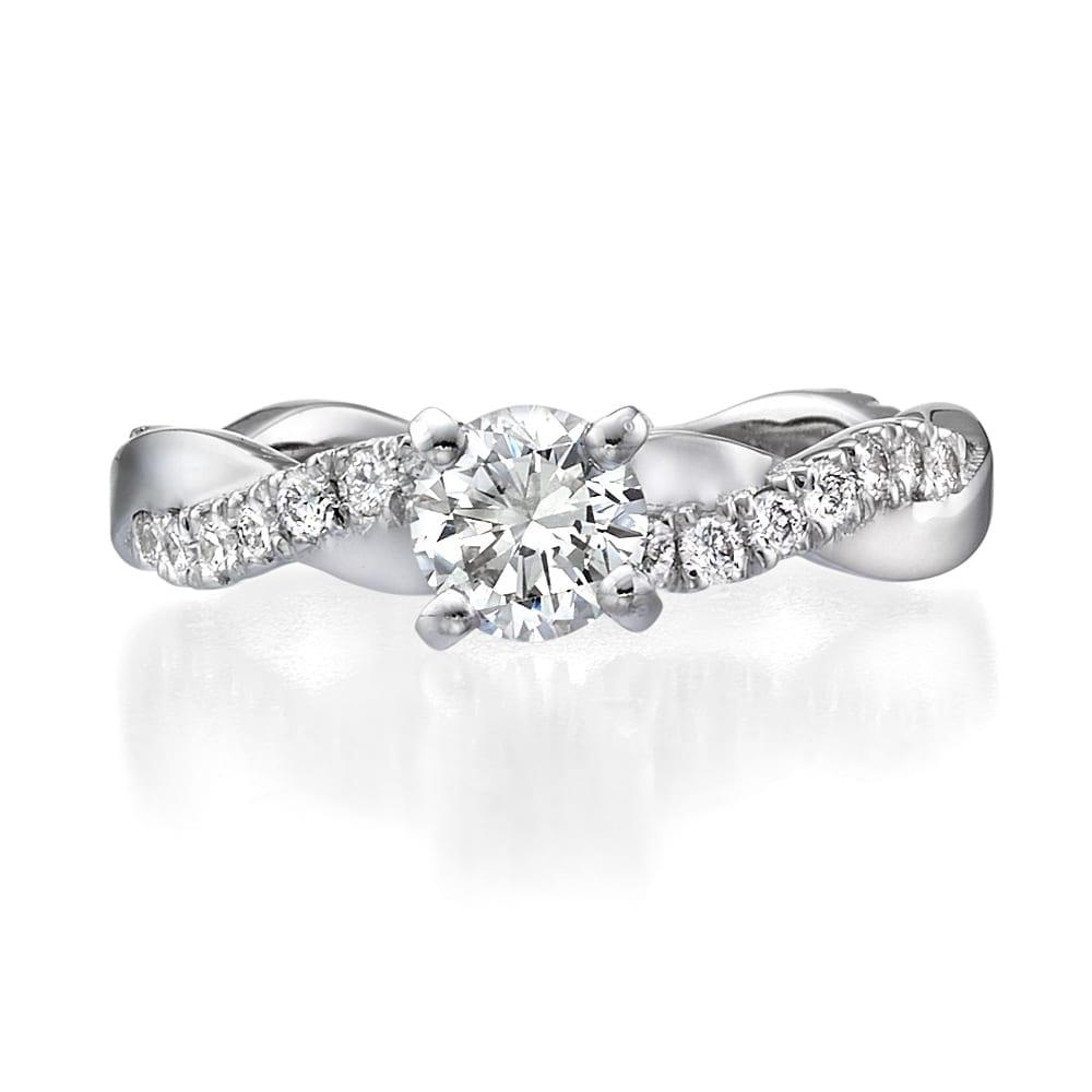 טבעת אירוסין דגם Amy