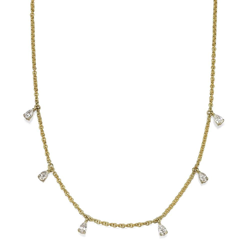שרשרת יהלומים דגם Zoe