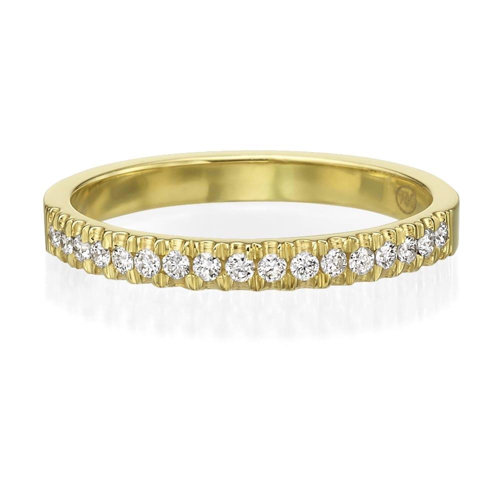 טבעת יהלומים דגם Jasmine