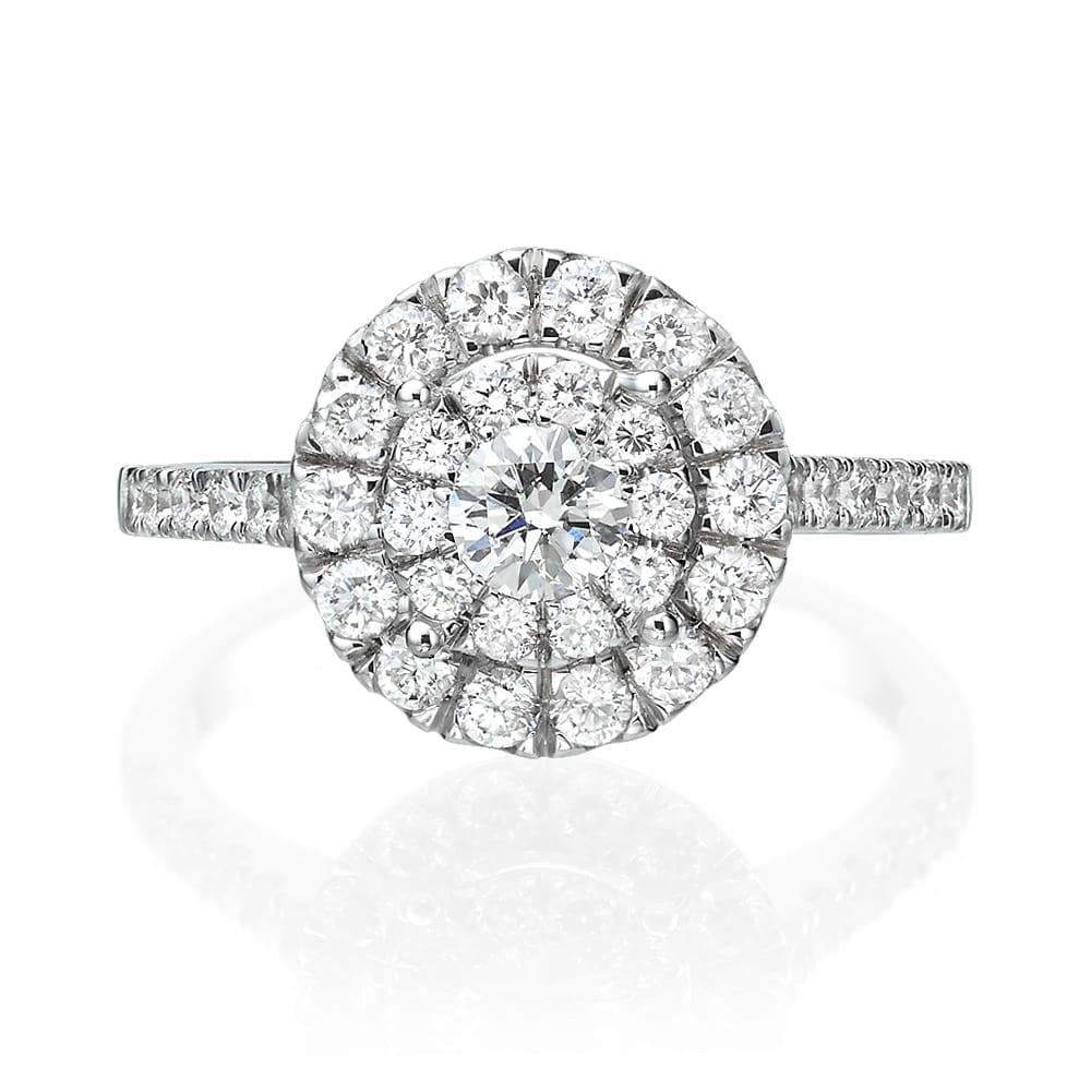 טבעת יהלומים דגם Ilanit