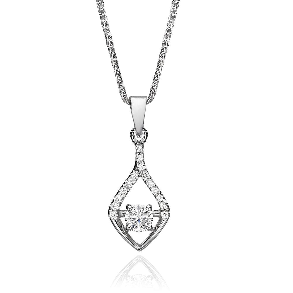תליון יהלומים דגם Amit