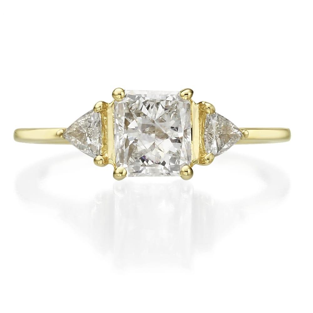 טבעת יהלומים דגם Selena