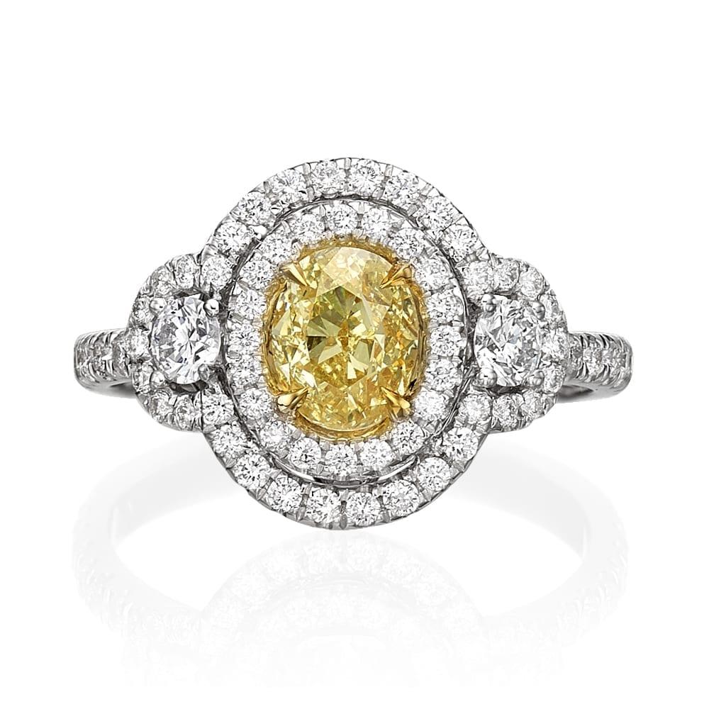 טבעת יהלומים דגם Shayla