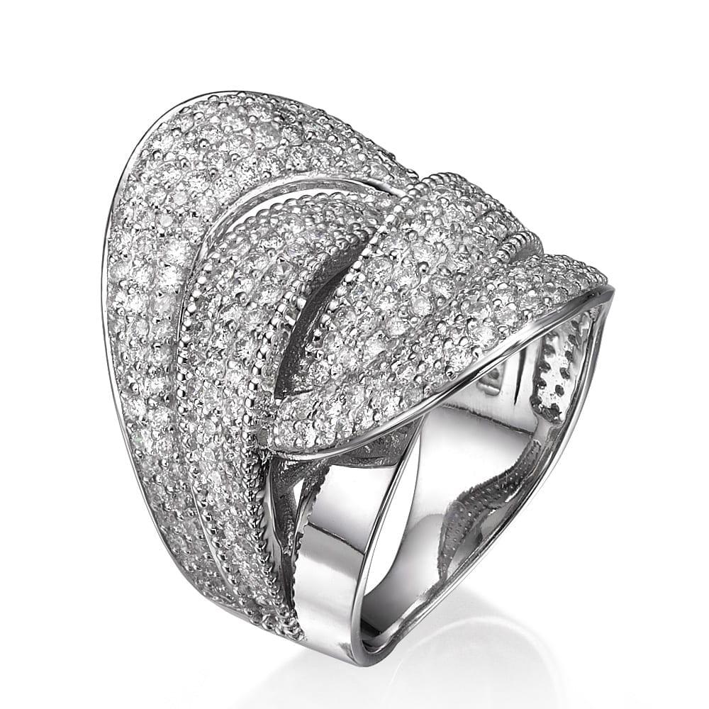 טבעת יהלומים דגם Dalit