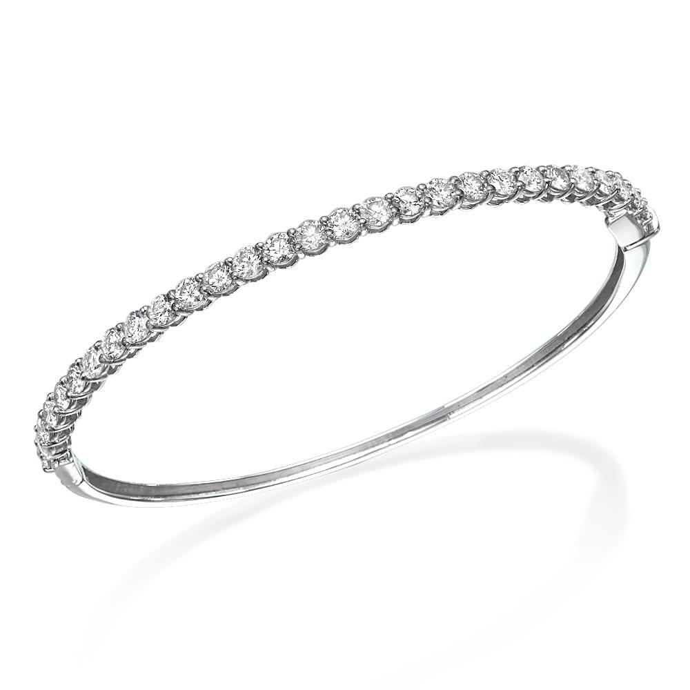 צמיד יהלומים קשיח דגם Roni