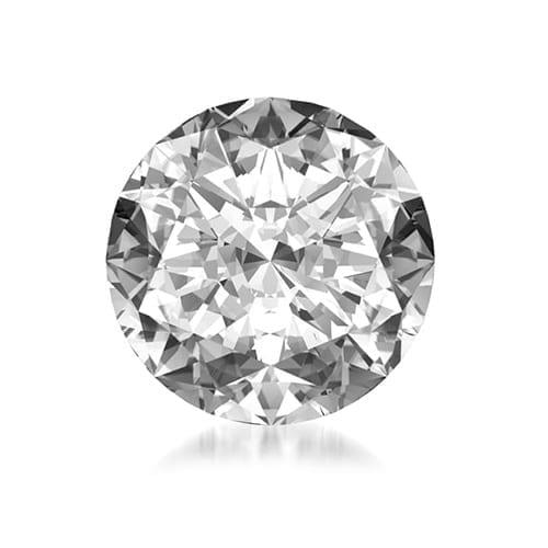 יהלום עגול במשקל 0.50 קראט G\SI2
