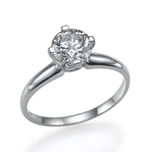 טבעת יהלום 2.04 קראט!